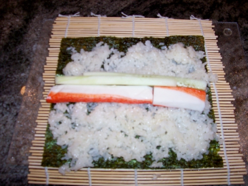 how to cook and prepare sushi